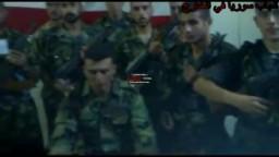انشقاق الملازم زاهر عبد الكريم ورفاقه من الجبش السورى احتجاجا على المجازر التى ترتكب فى حق الشعب السورى