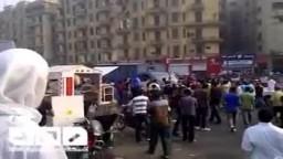 جمعة تصحيح المسار--طرد سيارة تابعة للداخلية من الميدان صباح اليوم
