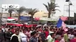 السويس --مسيرة 9/9 تنطلق من ميدان الأربعين  باتجاه مبنى المحافظة