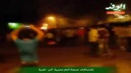 إشتباكات عنيفة أمام مديرية أمن الجيزة جمعة تصحيح المسار