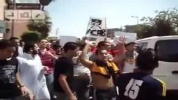 مظاهرة لشباب الالتراس وشباب الثورة بالزقازيق  في جمعة تصحيح المسار