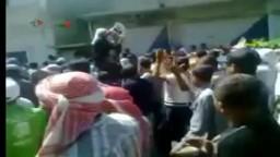 سوريا   حمص - القصير تشييع الشهيد خالد خرما
