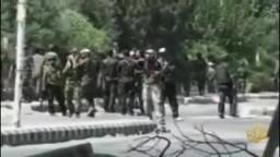 تقرير فناة الجزيرة عن الوضع السوري اليوم