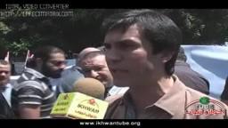 وقفة تنسيقية للثورة السورية واليمنية أمام جامعة الدول العربية13/9/2011