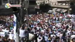 سوريا- لحظة هجوم عصابات الأمن على المتظاهرين في جمعة ماضون 16 9 2011