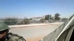 مسرب القصف العشوائي بالدبابات الذي يستهدف المساجد من قبل قوات الاسد القمعية