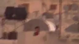 حمص الخالدية تواجد القناصة على اسطح المباني 27 9 2011