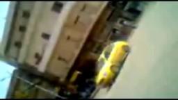 شام- ادلب انتشار الامن والشبيحة الاسدية امام مدرسة المتنبي 28 9