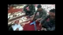 عصابات بشار الأسد يستهزئون بالإسلام   الجزء الثاني -