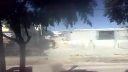 سوريا _حماه كفرزيتا اقتحام قوات الشبيحة الاسدية للمدينة 2 10 2011