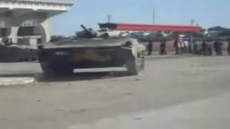 سوريا-  ادلب - اقتحام الجيش للبلدة 4-10