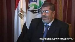 مقابلة مع د/محمد مرسي رئيس حزب الحرية والعدالة
