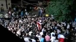 شام دمشق عربين مسائيات الثوار ردا على الموقف الروسي والصيني