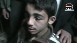 تعذيب الامن السوري لاطفال سوريا في محافظة دوما