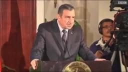 د. عصام شرف: الحكومة تضع استقالتها تحت امر المجلس الاعلى للقوات المسلحة