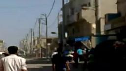 سوريا- درعا داعل اطلاق رصاص على المتظاهرين من قبل الامن وشبيحة الاسد - جمعة أحرار الجيش