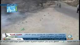 شاهد اعتداء قوات الاحتلال الصهيوني  على مراسلة قناة القدس