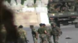 سوريا- حمص باب سباع اقتحام الجيش والامن والشيبحة الاسدية 15/10