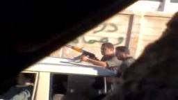 سوريا_درعا خربة غزالة انتشار قوات الامن والشبيحة الاسدية في المدينة لمنع التظاهر 17 10 2011