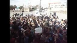سوريا مظاهرة للطلاب الأحرار  18/ 10