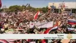 سوريا-   اشتباكات بين الجيش السوري ومنشقين عن الجيش اسفر عن 20 قتيلا