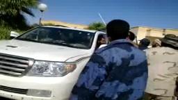 لحظة القبض على المجرم .. منصور ضو ... مصراته