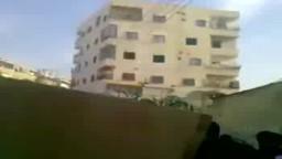 جنازة الشهيد السوري طالب السمرة