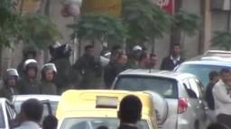 سوريا - دمشق - القابون - الانتشار الامني الكثيف لقمع المتظاهرين السلميين 29-10