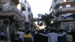 شام حمص باب سباع اطلاق رصاص على المتظاهرين