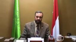 كلمة الدكتور محمد الدسوقي مسئول المكتب الاداري لشمال الدقهلية بمناسبة عيد الاضحى والحج