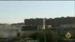 إستمرار القصف على حمص وحماة
