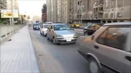 مسيرة سيارات للحرية والعدالة بالاسكندرية