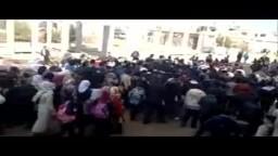 سوريا- درعا - مظاهرات الاحرار في ثلاثاء فجر الحرية 15 11