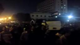 مسيرة الدقي باتجاه ميدان التحرير ليلة جمعة حماية الديمقراطية