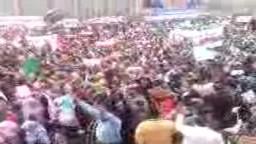 جمعة حماية الديمقراطية - م. التحرير- من امام المنصة الرئيسية