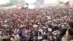 جمعة حماية الديمقراطية - ميدان التحرير اثناء صلاة الجمعة