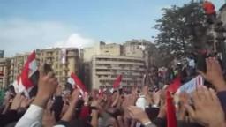 قسم الولاء للثورة فى ميدان التحرير جمعة تسليم السلطة 18 نوفمبر