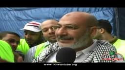 لقاء مع د/ صفوت حجازى بميدان التحرير فى جمعة حماية الديمقراطية 18 /11