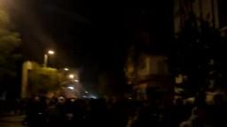 اشتباكات المتظاهرين مع الامن شارع محمد محمود 19-11