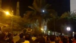 مظاهرات المنيا امام مديرية الامن 21 11 2011