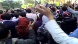 مظاهرات جامعة أسكندرية 21/11/2011