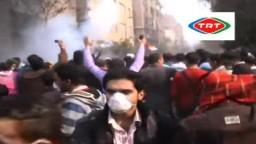 تصوير واضح لأهم أحداث اليوم فى شارع محمد محمود بميدان التحرير 22/11
