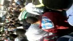 تظاهر الآلاف ببني سويف تضامنا مع معتصمي التحرير