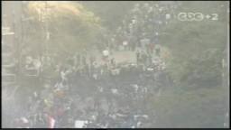 شارع محمد محمود وميدان التحرير الآن