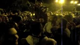 متظاهرون يجوبون شوارع السويس