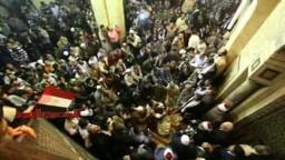 جمعة انقاذ الاقصى بالجامع الأزهر بحضور الدكتور القرضاوى
