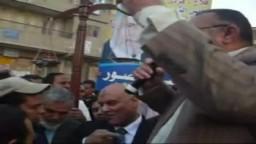 كلمة الاستاذ عبداللة مصباح التي يقدم فيها مرشحي حزب الحرية والعدالة اثناء المسيرة الانتخابية الختامية فى مدينة كفرالشيخ