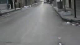 عصابات الأسد تطلق  النار على المارة واصابة رجل مسن