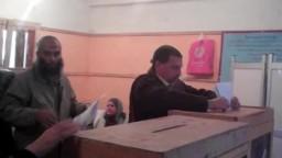 تصويت الناخبين في لجان العامرية بالاسكندرية