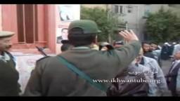 حشود وطوابير الناخبين أمام اللجان فى محافظة الفيوم للإدلاء بأصواتهم فى أول انتخابات برلمانية بعد ثورة 25 يناير